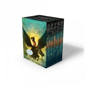 Percy Jackson and the Olympians: 5 Book Paperback Boxed Set (new covers w/poster) - hyperion - 9781484707234 -