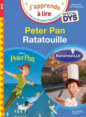 Peter Pan/Ratatouille - Spécial dyslexie - hachette - 9782016255421 -