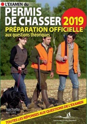 Permis de Chasser 2019 - hachette  - 9782017040798 -