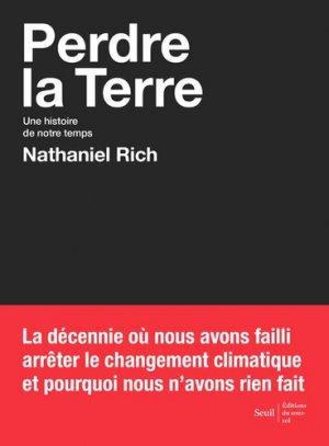 Perdre la Terre - Seuil - 9782021424843