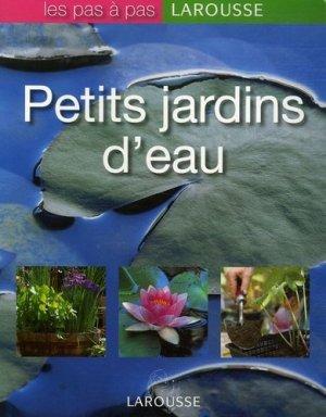 Petits jardins d'eau - larousse - 9782035822789