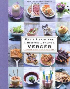 Petit Larousse des Recettes aux Fruits du Verger - Larousse - 9782035844194 -