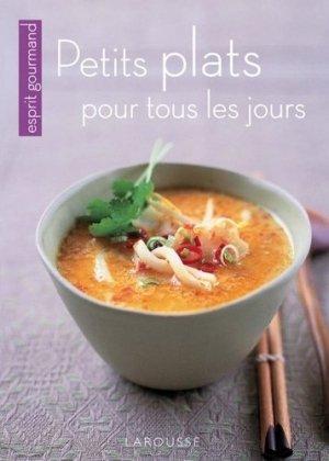 Petits plats pour tous les jours - Larousse - 9782035851765 -