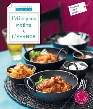 Petits plats prêts à l'avance - Larousse - 9782035889492 -