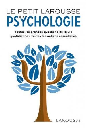 Petit Larousse de la psychologie - larousse - 9782035969064 -