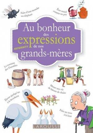 Petit dictionnaire insolite des mots d'antan - Larousse - 9782035977274 -