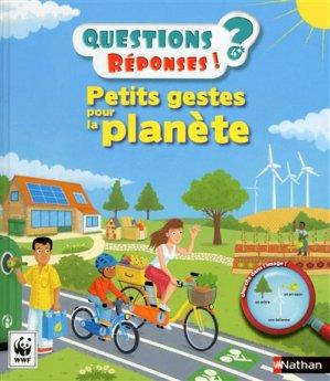 Petits gestes pour la planète - nathan - 9782092558867