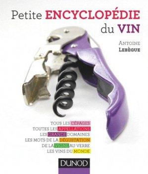 Petite encyclopédie du vin - dunod - 9782100572434 -