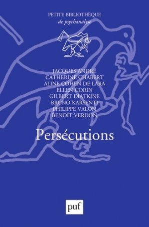 Persécutions - puf - presses universitaires de france - 9782130789727 -