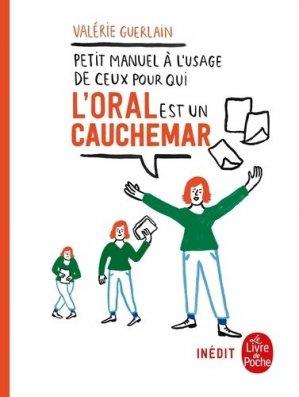 Petit manuel à l'usage de ceux pour qui l'oral est un cauchemar - le livre de poche - 9782253188360