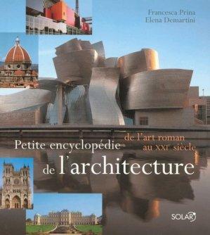 Petite encyclopédie de l'Architecture - solar  - 9782263040962 -