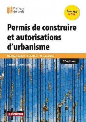 Permis de construire et autorisations d'urbanisme - le moniteur - 9782281133585 -