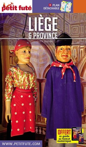 Petit Futé Liège - Nouvelles éditions de l'Université - 9782305003719 -