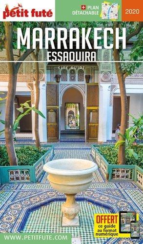 Petit Futé Marrakech Essaouira - nouvelles editions de l'universite - 9782305020877 -