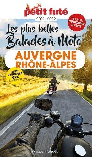 Petit Futé Auvergne-Rhône-Alpes à moto - Nouvelles éditions de l'Université - 9782305056333 -