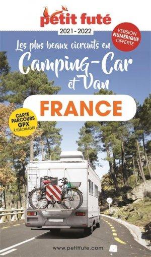 Petit Futé Les plus beaux circuits en camping-car et van - nouvelles éditions de l'université petit futé - 9782305056814 -