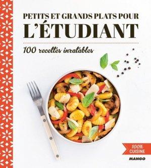 Petits et grands plats pour l'étudiant - mango - 9782317021152 -