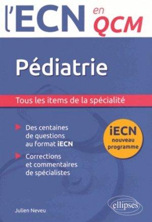 Pédiatrie - ellipses - 9782340005518 -