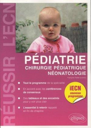 Pédiatrie, chirurgie pédiatrique, néonatalité - ellipses - 9782340007277 -