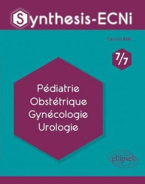 Pédiatrie, Obstétrique, Gynécologie, Urologie - ellipses - 9782340033115 -