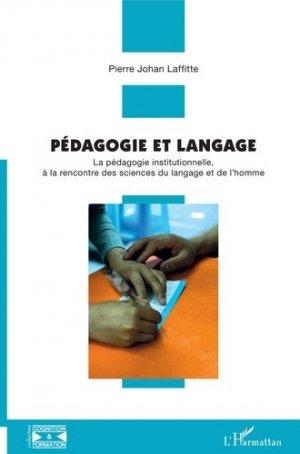 Pédagogie et langage - l'harmattan - 9782343192710 -