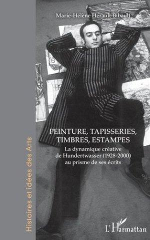 Peinture, tapisseries, timbres, estampes - l'harmattan - 9782343207926 -