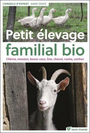 Petit élevage familial bio - terre vivante - 9782360983506 -