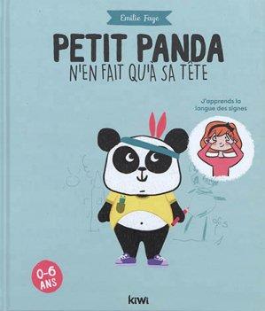Petit panda n'en fait qu'à sa tête - kiwi - 9782378830250 -