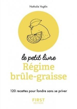Petit Livre de - Régime brûle-graisse - first  - 9782412033869 -