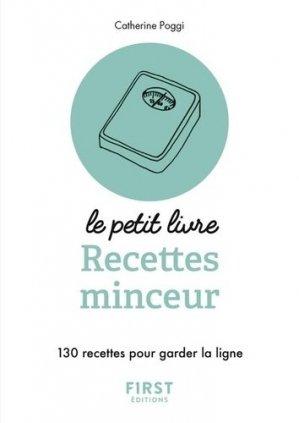 Petit livre de - 140 recettes minceur - first  - 9782412034309 -