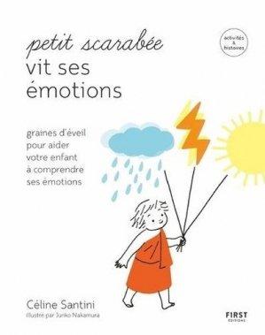 Petit Scarabée vit ses émotions - First - 9782412053843 -