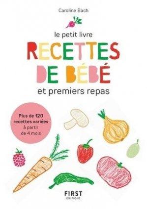 Petit livre de - purees de bebe et premiers petits plats - first editions - 9782412058237 -