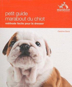 Petit guide du chiot - marabout - 9782501075855 -