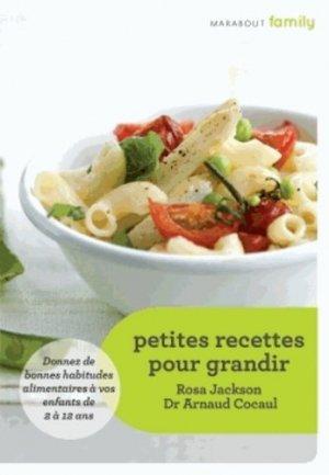 Petites recettes pour grandir - marabout - 9782501086028 -
