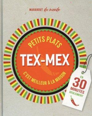 Petits plats Tex-Mex en 30 minutes - marabout - 9782501153829 -