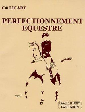 Perfectionnement équestre - lavauzelle - 9782702502600 -