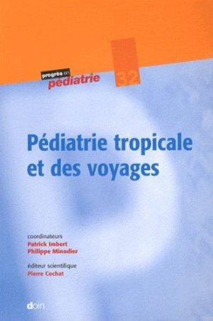 Pédiatrie tropicale et des voyages - doin - 9782704013494
