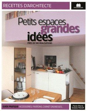 Petits espaces grandes idées - massin - 9782707207326 -