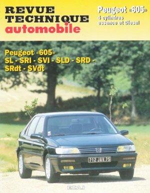Peugeot ''605'' - etai - editions techniques pour l'automobile et l'industrie - 9782726870419 -