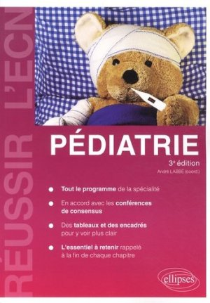 Pédiatrie - ellipses - 9782729877439 -