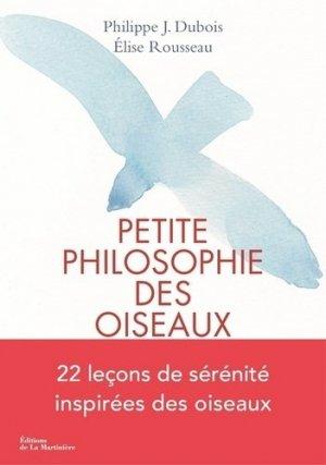 Petite philosophie des oiseaux - de la martiniere - 9782732482798 -