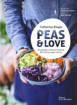 Peas & Love - de la martiniere - 9782732484723
