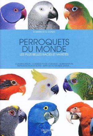 Perroquets du monde - de vecchi - 9782732892542 -