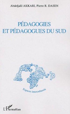 Pédagogies et pédagogues du Sud - l'harmattan - 9782747574808 -