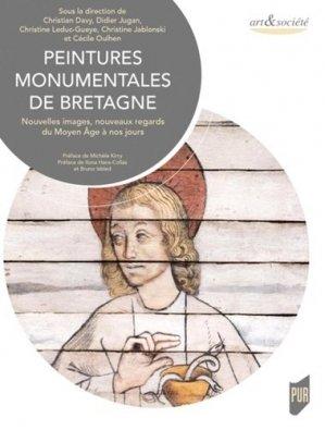 Peintures monumentales de Bretagne - presses universitaires de rennes - 9782753580824 -