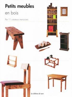 Petits meubles en bois - de saxe  - 9782756509235 -