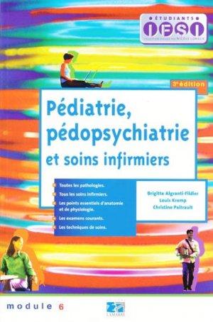 Pédiatrie, pédopsychiatrie et soins infirmiers - lamarre - 9782757301937