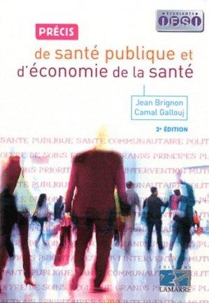 Petit précis de santé publique et d'économie de la santé - lamarre - 9782757303313 -