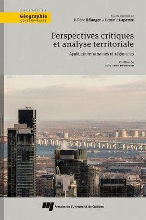 Perspectives critiques et analyse territoriale - presses de l'universite du quebec - 9782760552005 -