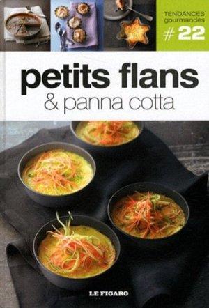 Petits flans & panna cotta - le figaro - 9782810503827 -